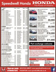 Used Car Newspaper Adverts image_1