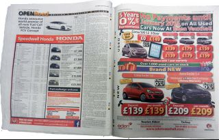 Used Car Newspaper Adverts image_3