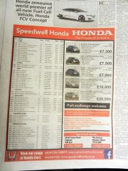 Used Car Newspaper Adverts image_4